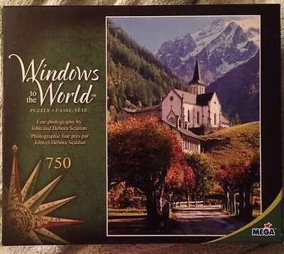 Windows to the World Sanctuary 750 Piece Puzzle Suitable For Framing New