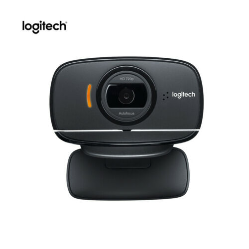100% Logitech C525 HD Video Webcam with Autofocus 8MP Pics and Built-in Mic