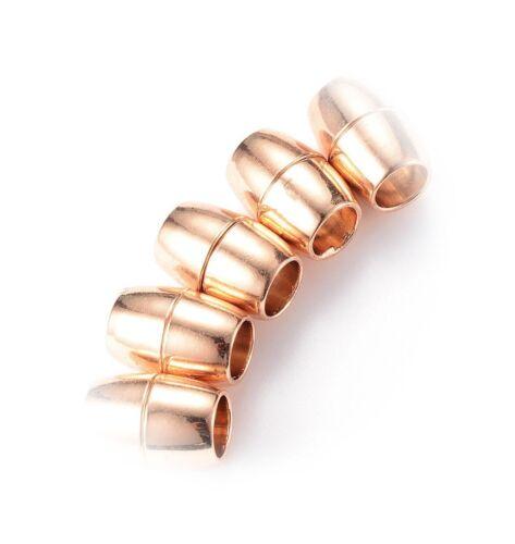 1 cierre magnético cuero caucho 17x12x8 mm de latón dorado bricolaje//301