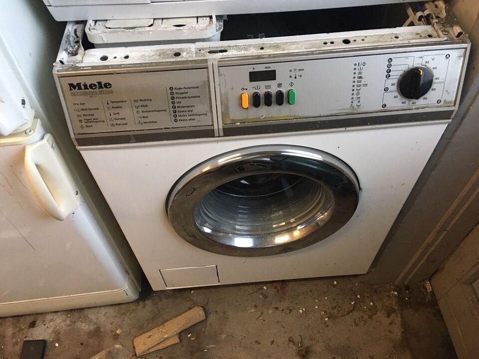 Miele vaskemaskine, frontbetjent