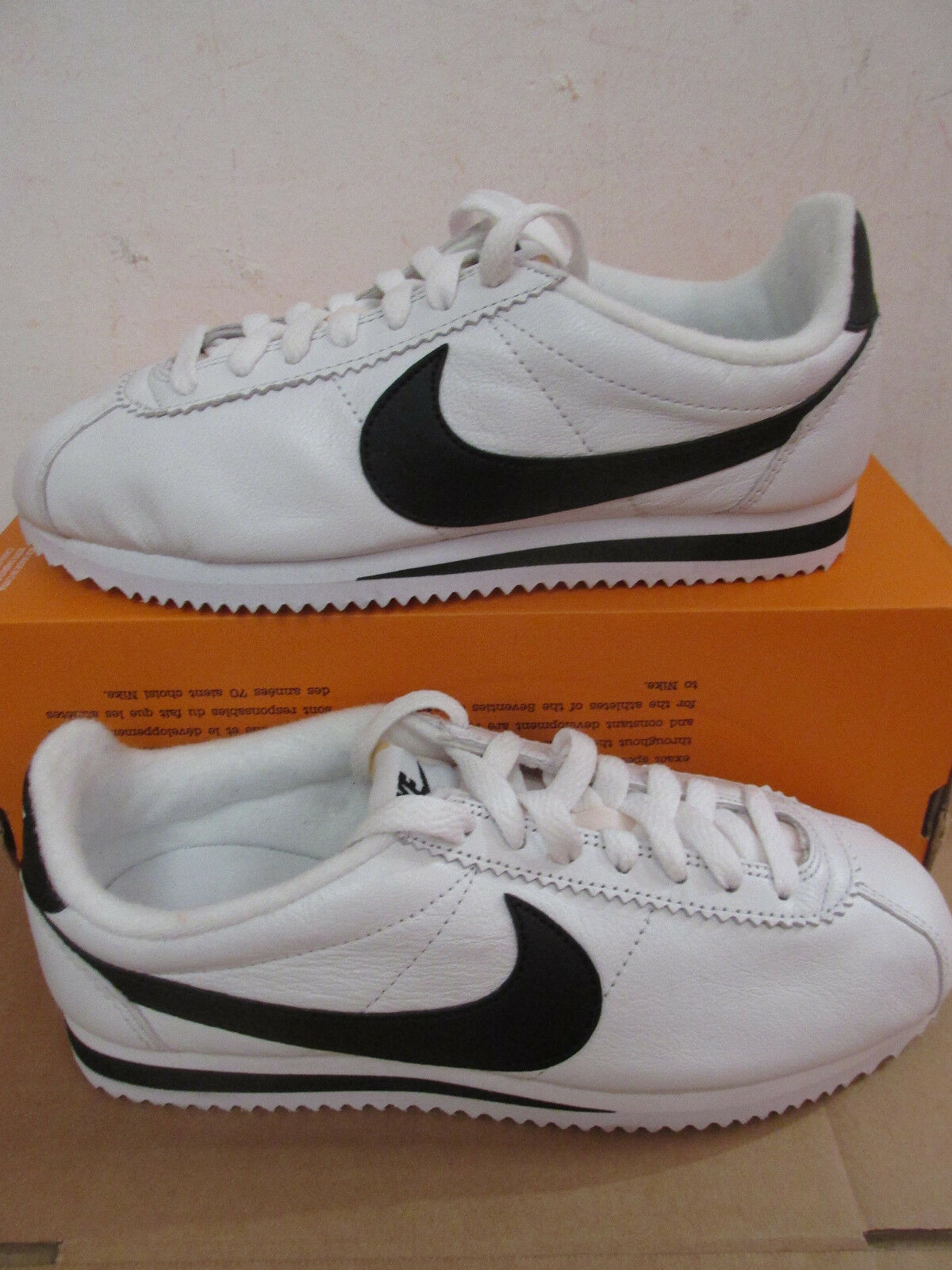 nike classic cortez PREM mens trainers 807480 101 sneakers shoes CLEARANCE