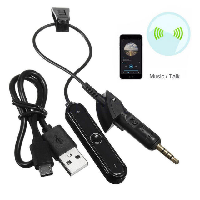 For QuietComfort QC15 Bose>Headphone Cable Replace Receiver Adapter Bluetooth4.1