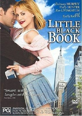 LITTLE BLACK BOOK DVD Brittany Murphy Holly Hunter Ron Livingston (SEALED) R4