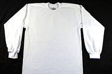 Pro Club Heavyweight T-shirt 100% Cotton-WHITE-3XLarge-LONG SLEEVE-Set of 6 pcs