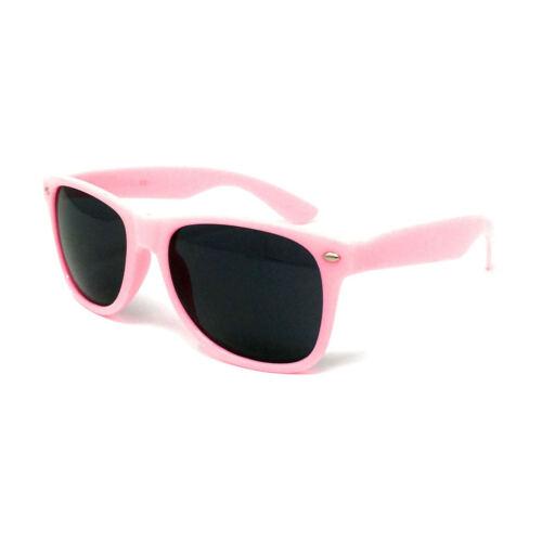 WHOLESALE KIDS Sunglasses Boys Girls Shades Black Childrens Classic BULK Glossy
