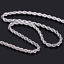 Gold-Color-Twist-Chain-Necklace-Stainless-Steel-Women-039-s-Men-Rope-Chain-Necklace thumbnail 6