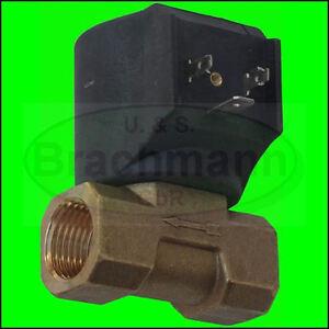 CEME-Magnetventil-1-2-034-Messing-230V-50Hz-0-15bar-NEU