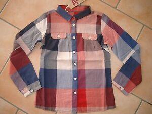 C114-American-Outfitters-Girls-Bluse-A-Form-geschnitten-Brust-Taschen-gr-140