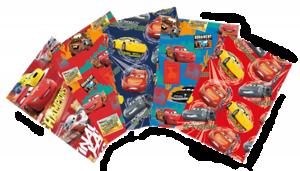 5 Rollen Geschenkpapier 200x70cm Cars 1,00€//m