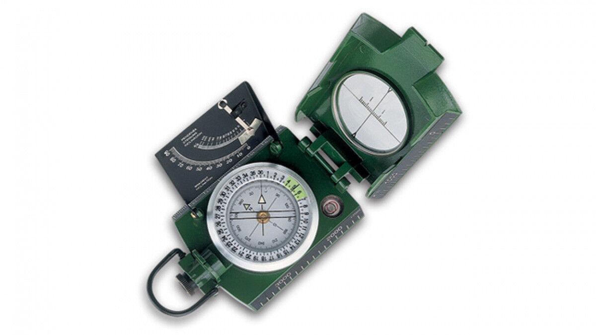 Bussola KONUS KONUSTAR Compass Metallo green clinometro prismatica professionale