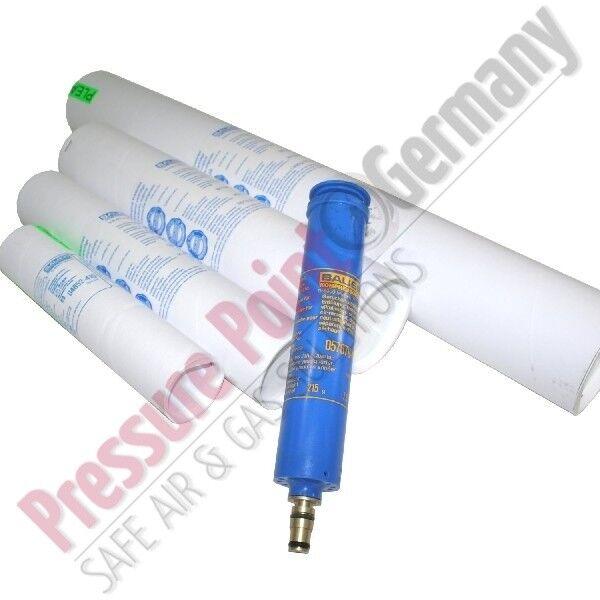 Bauer Kompressoren Filterpatrone 060036 Securus für Filtersystem P60 61 61 61 60970a