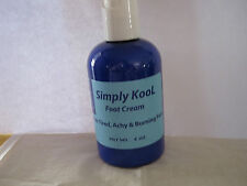 SIMPLY KOOL, Foot Cream for Diabetic Neuropathy, & Gout Sufferers