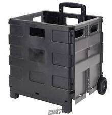 Simply Portable Folding Jumbo Shopping Cart 1654lx1457dx1575h Rubberwheels
