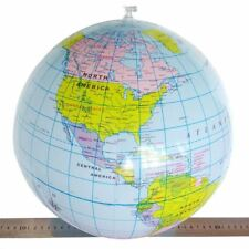 Inflatable globe 40cm 16 inch atlas world map earth beach ball inflatable globe 40cm 16 inch atlas world map earth beach ball geography blow up toy gumiabroncs Image collections