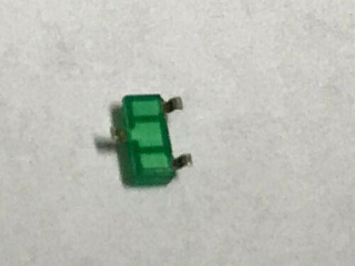 Abst.140° 50 Stück 2,2V SOT23 Kingbright KM-23SGD-F 8-20mA LED Grün 568nm