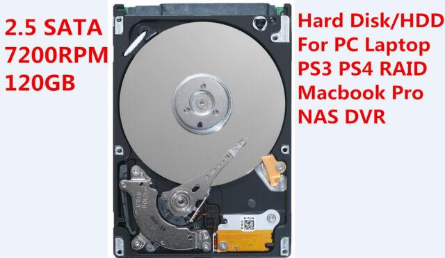 120GB 7200 SATA Hard Drive 2.5 9M