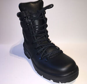 Bata Legion Womens Police Army Leather Boots Steel Toe Cap Public ...