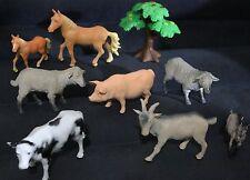 VINTAGE ANIMAL PLANET COLLECTIBLE FARM ANIMAL LOT