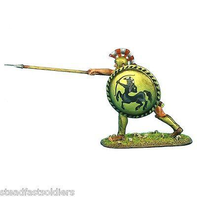 First Legion: AG013 Hoplite with Bronze Reinforced Linen Armor & Illyrian Helmet