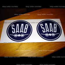 saab airplane hood emblem decal sticker fits all models
