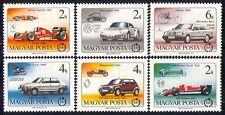 UNGHERIA 1986 Auto/Trasporto/AUTOMOBILISMO/VW/FERRARI/mercedes benz/GP/F1 6v (n29640)