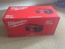 Milwaukee Radio M18 JSR-0 Nuovo di zecca!!!