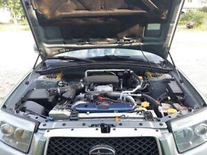Strut Shock Lift Support Gas Hood Damper Kit  FOR Subaru Forester SG