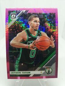 Jayson-Tatum-2019-20-Donruss-Optic-HYPER-PINK-Holo-Prizm-Card