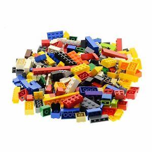 200-Lego-System-Basic-Bau-Classic-Steine-Kiloware-Farbe-zufaellig-bunt-gemischt