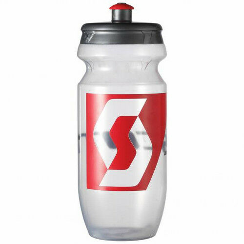 Canister Flask Bottle SCOTT red transparent mountain bike  cycling race NEW  free shipping worldwide