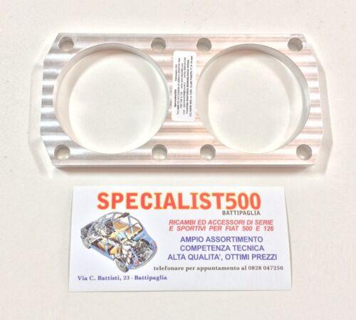 PIASTRA RINFORZO MONOBLOCCO 110 F PER ELABORAZIONE 595 cc 650 cc H 12 mm