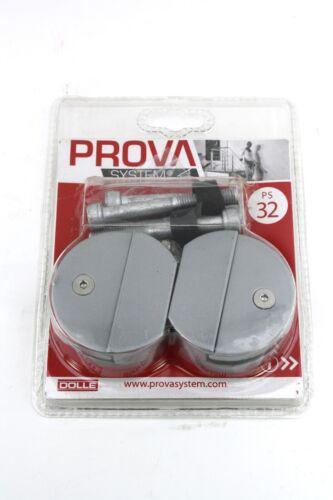 PS 32 Acrylglas-Halter zur Befestigung an Pfosten PS1 /& PS2 PS32 DOLLE Prova