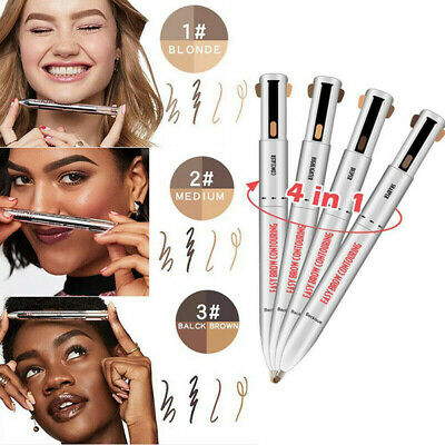 Brow Contour 4 In 1 Defining Highlighting Pencils Eyebrow Eyeliner Enhance K Ebay