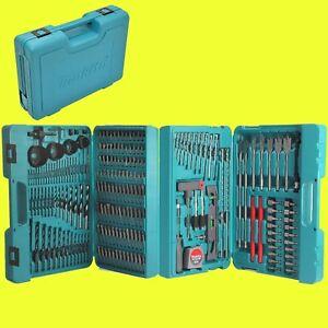 makita bit und bohrer set 216 teilig im koffer p 44046 zubeh r set ebay. Black Bedroom Furniture Sets. Home Design Ideas