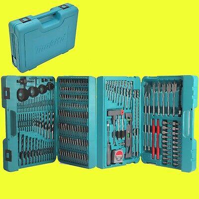 MAKITA Bit- und Bohrer-Set 216 teilig im Koffer P-44046  Zubehör-Set