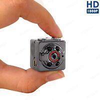 FULL HD 1080p NACHTSICHT BEWEGUNGSMELDER VIDEO KAMERA HAUS ÜBERWACHUNG 32GB