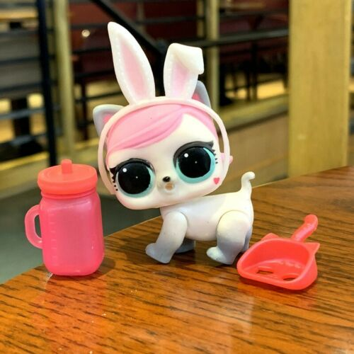 rare LOL Surprise Pets HOPS KIT-TEA KITTY Series 3 with cat ear Doll gift