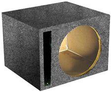 """Qpower QSBASS10 *Sbass10* Empty Woofer Box ; (1)10"""" Slot Ported"""