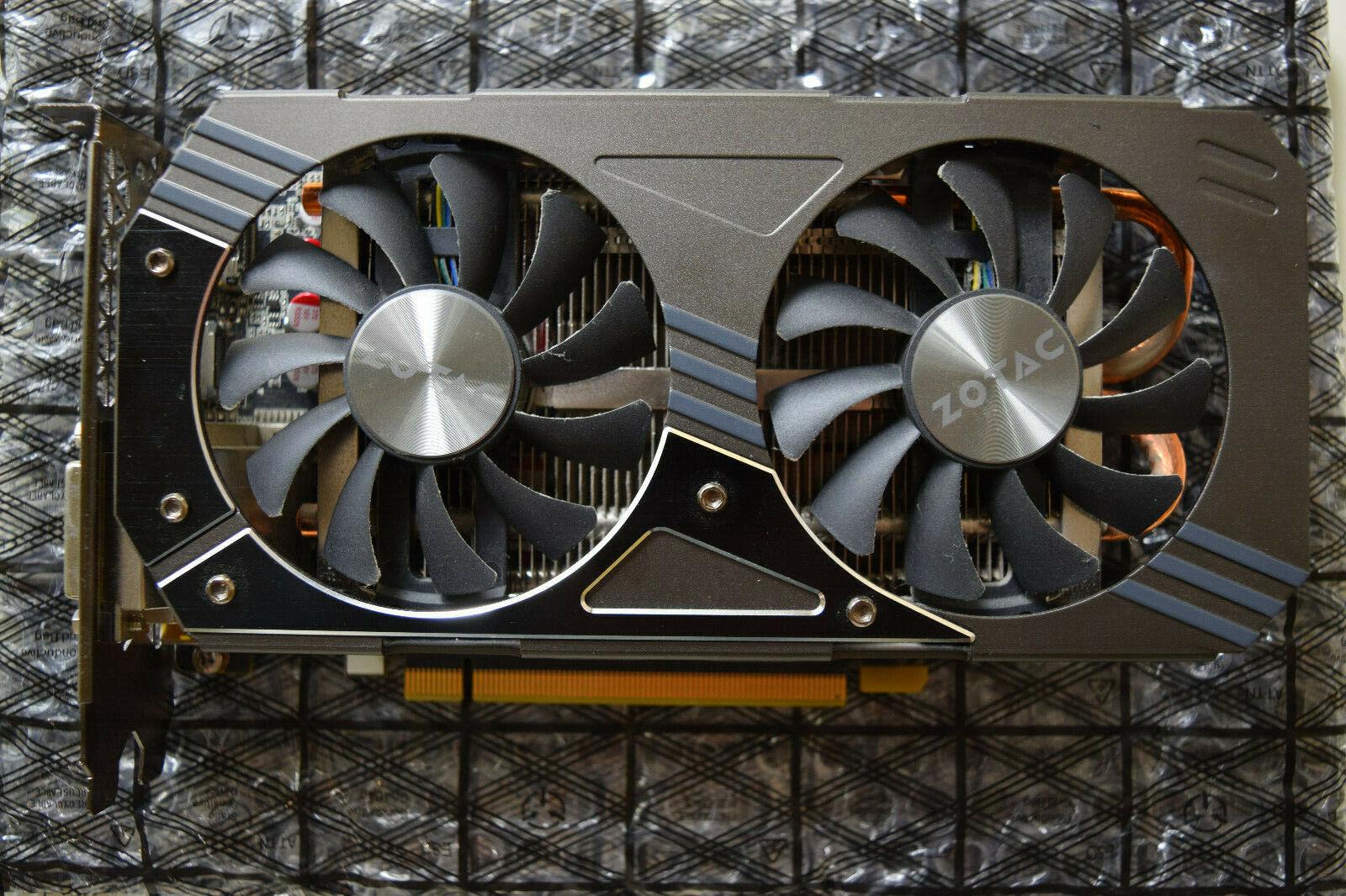 ZOTAC GeForce GTX 960 4GB 128bit GDDR5 PCI-Express GPU DVI/DisplayPort/HDMI
