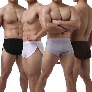 Bulging fetish in man shorts site