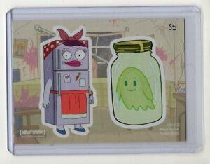 Cryptozoic-Rick-amp-Morty-Season-2-Sticker-Chase-Card-S5-Mrs-Refrigerator