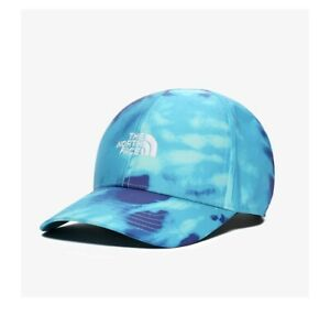 The-North-Face-SNS-Logo-Hat-One-Size-Scuba-Blue-Tie-Dye-Print-Limited-Edition