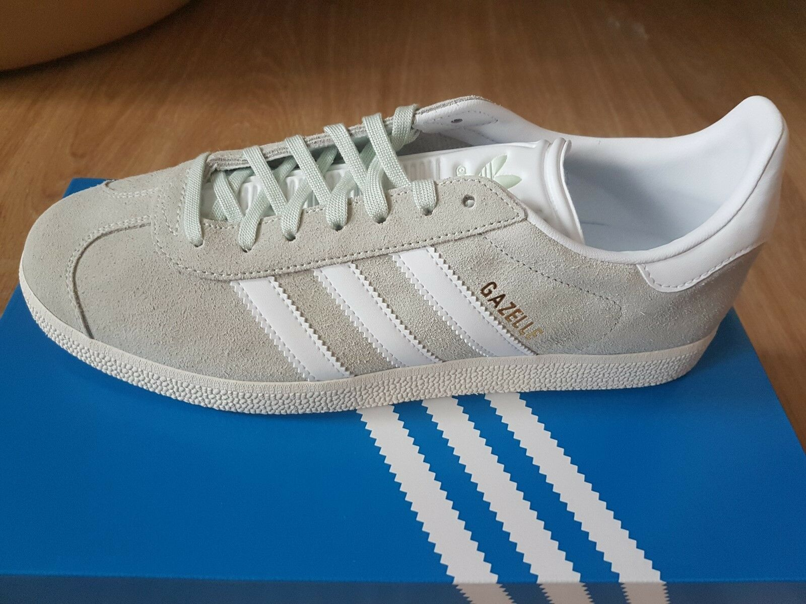 Adidas GAZELLE zapatos bz0023 Talla UK 8