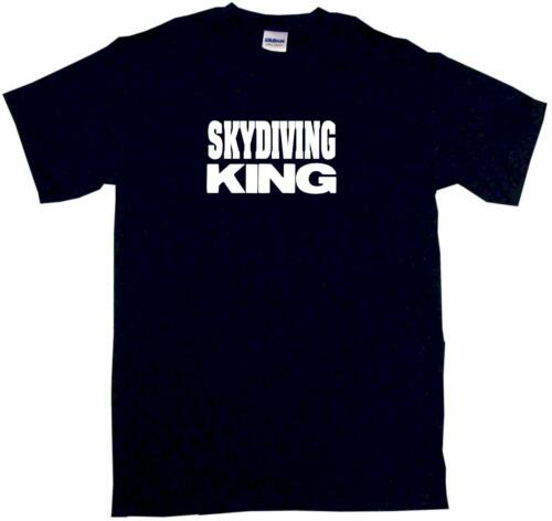 Skydiving King Mens Tee Shirt Pick Size Color Small-6XL