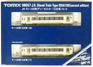 Tomix-98057-JR-Diesel-Train-Type-KIHA-100-2nd-Ed-2-Cars-Set-N-scale