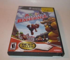 Mario-Superstar-Baseball-Nintendo-GameCube-2005-Complete-CIB-Fun-Game-VGC