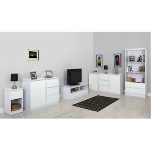 Groovy Details About Living Room Furniture Sideboards Bookcase Tv Cabinets Black Or White Clearance Download Free Architecture Designs Scobabritishbridgeorg