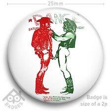 """The Sex Pistols SEDITIONARIES Vivienne Westwood COWBOYS Colour 25mm 1"""" Badge"""
