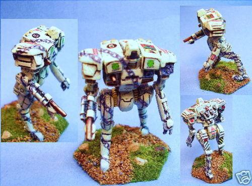 Battletech gemalt eyleuka battlemech gr