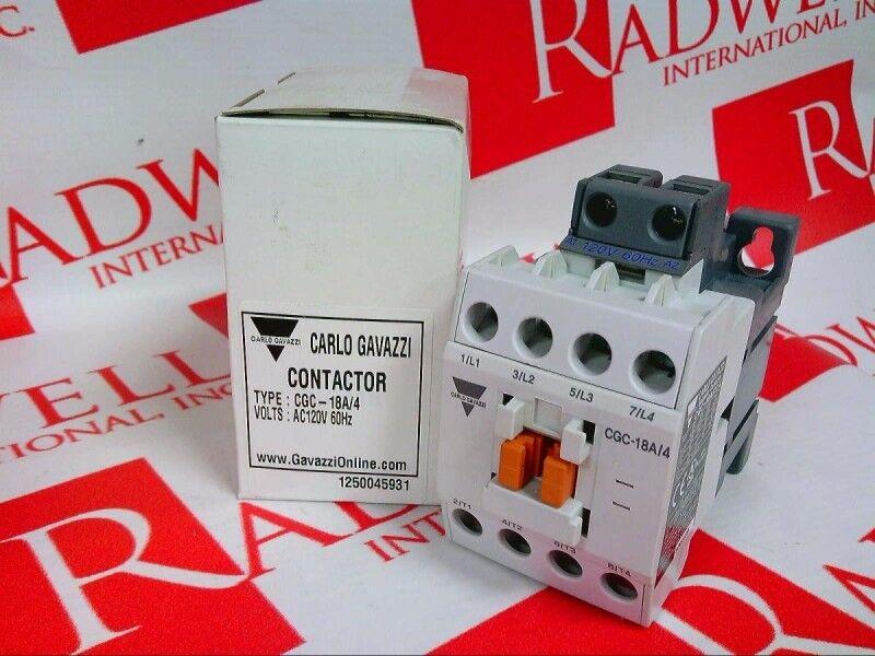 CARLO GAVAZZI CGC-18A-4120   CGC18A4120 (NEW IN BOX)